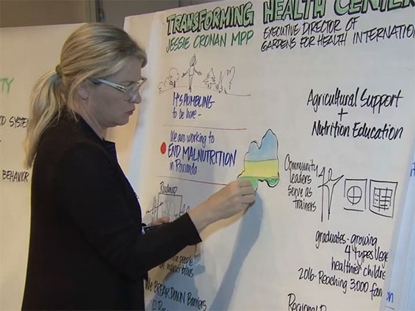 Video Still from Nutrition Impact Summit Video